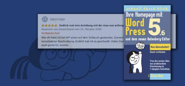 Wordpress Buch 1: Ihre Homepage mit WordPress 5 und dem Gutenberg Editor