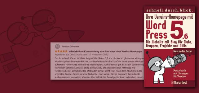 WordPress-Buch 3: Ihre Vereins-Homepage mit WordPress 5